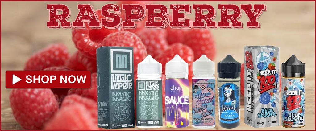 Five Amazing Raspberry eJuice Flavors