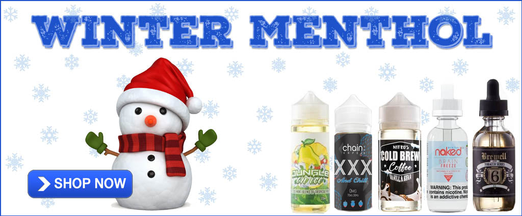 Winter Menthol Vape Juice Flavors For The Holidays