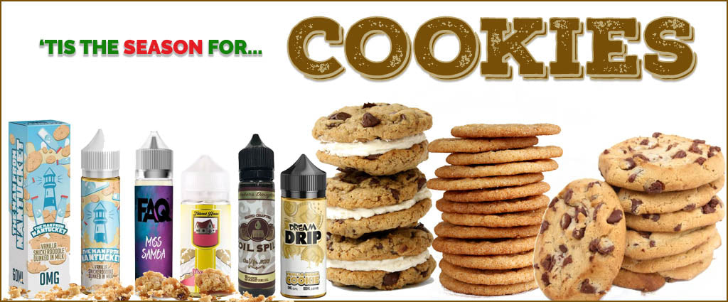'Tis The Season For Holiday Cookie Vape Juice