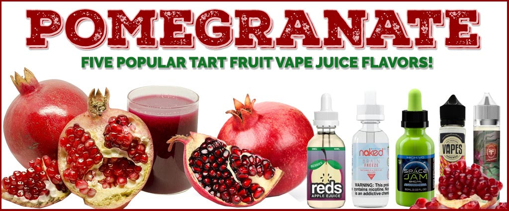 Give An Exciting Pomegranate Flavored Vape Juice A Try!