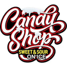The Candy Shop E-Liquid On Ice Logo