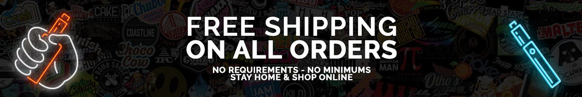 Free Shipping on all eJuice