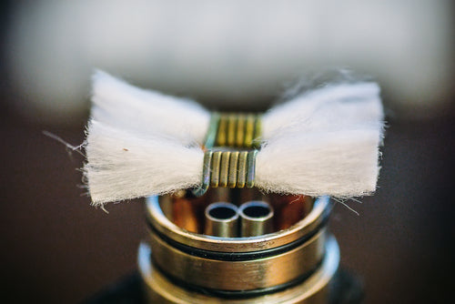 Learn how to wick a coil
