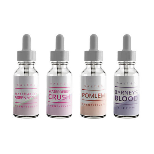 120ml Nicotine Salt Bundle by Salt Drops E-Liquid #1