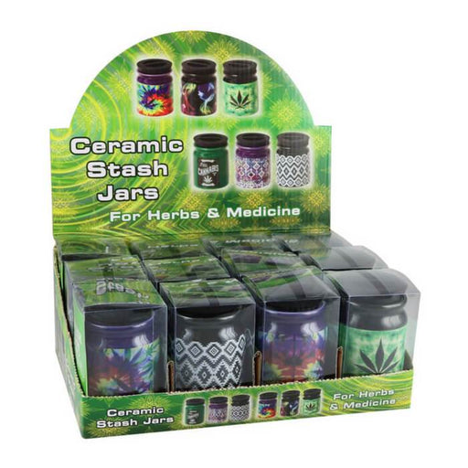 AFG Distribution Hardware Ceramic Stash It Jars #1