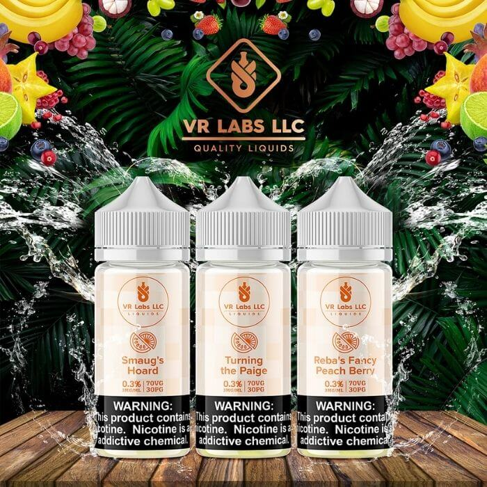 300ml Fruit Bundle by VR (VapeRite) Labs Premier E-Liquid