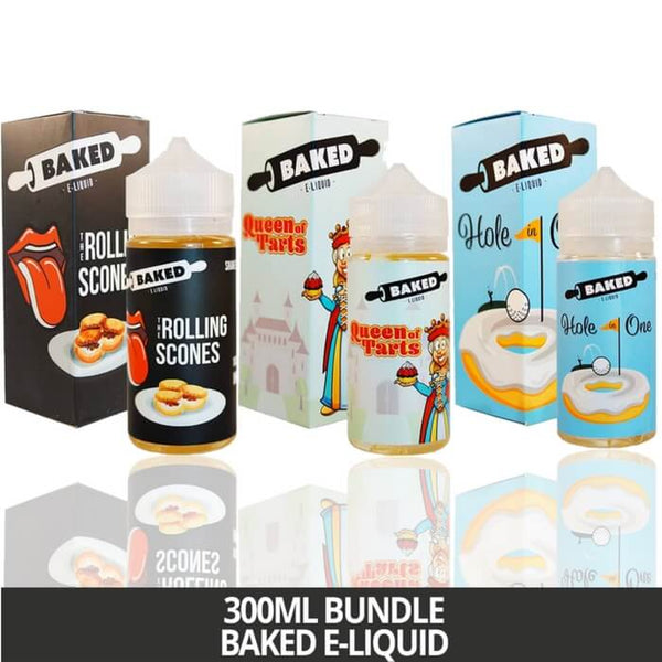 300ml Bundle by Baked E-Liquid #1