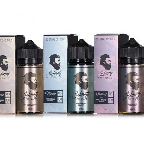 300ml Bundle by Johnny Applevapes E-Liquid
