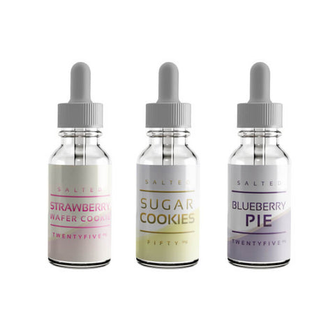 90ml Dessert Nicotine Salt Bundle by Salt Drops E-Liquid