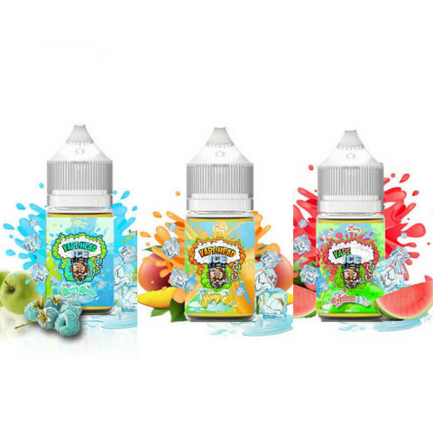90ml Ice Nicotine Salt Bundle by Vape Heads Sour E-Liquid