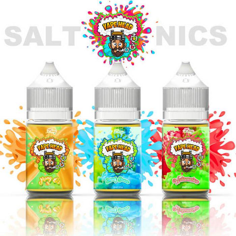 90ml Original Nicotine Salt Bundle by Vape Heads Sour E-Liquid