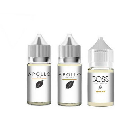 90ml Tobacco Nicotine Salt Bundle by Apollo E-Liquids