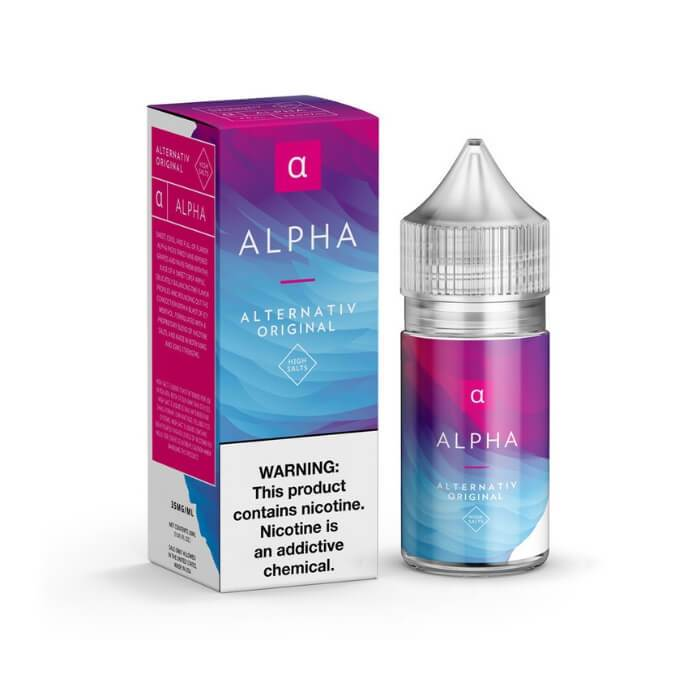 Alpha by Alternativ Nicotine Salt E-Liquid #1