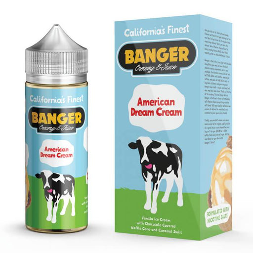American Dream Cream by Banger Creamy E-Juice #1