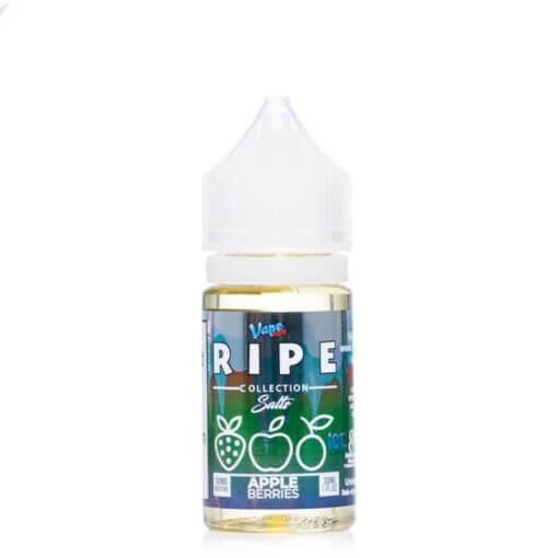Apple Berries On Ice by The Ripe Collection Nicotine Salt by Vape 100 E-Liquid