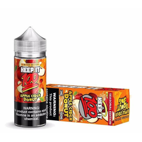 Apple Cider Donut by Keep It 100 eJuice #2