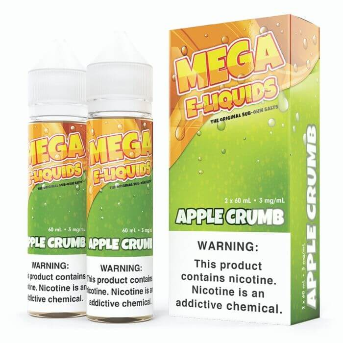 Apple Crumb by Mega E-Liquids