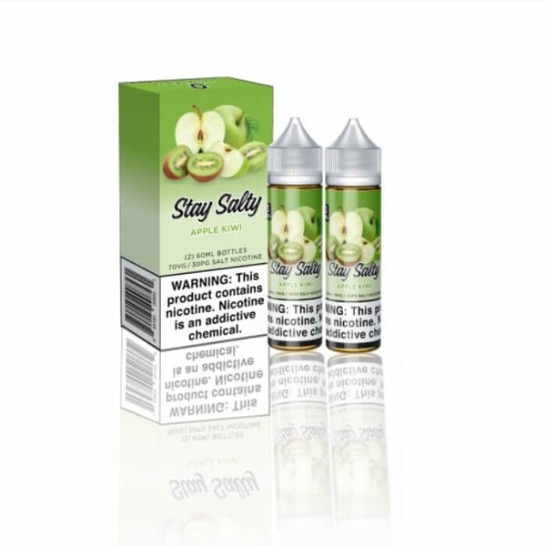 Apple Kiwi by Stay Salty Nicotine Salt E-Liquid #1