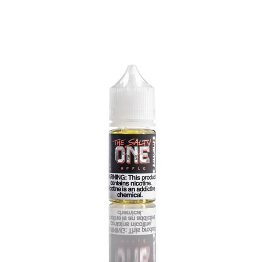 Apple Nicotine Salt by The Salty One E-Liquid