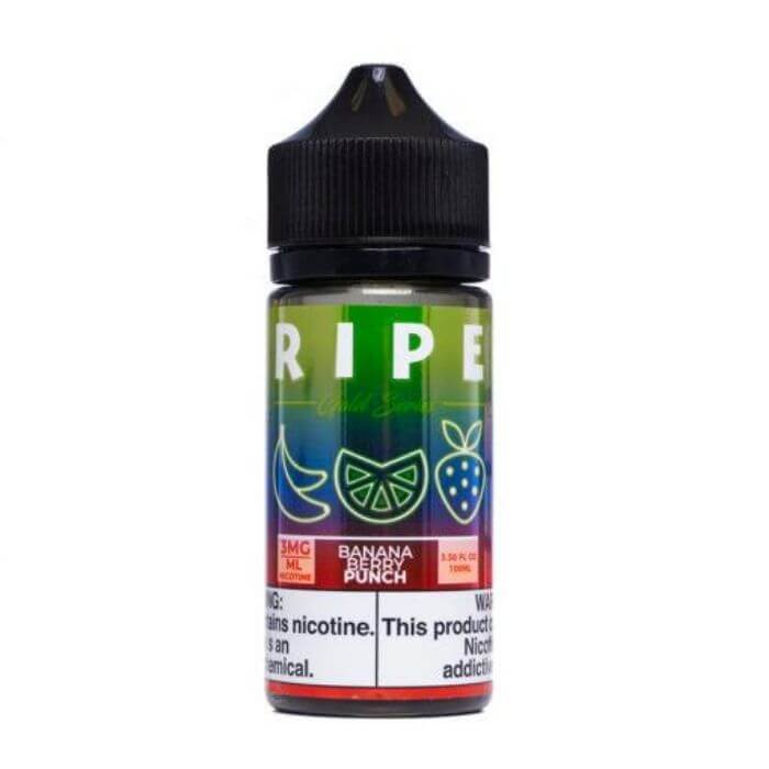 Banana Berry Punch by The Ripe Gold Series Collection by Vape 100 E-Liquid
