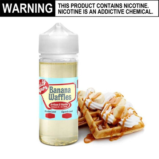 Banana Waffles by Tasty Vapor E-Juice #1