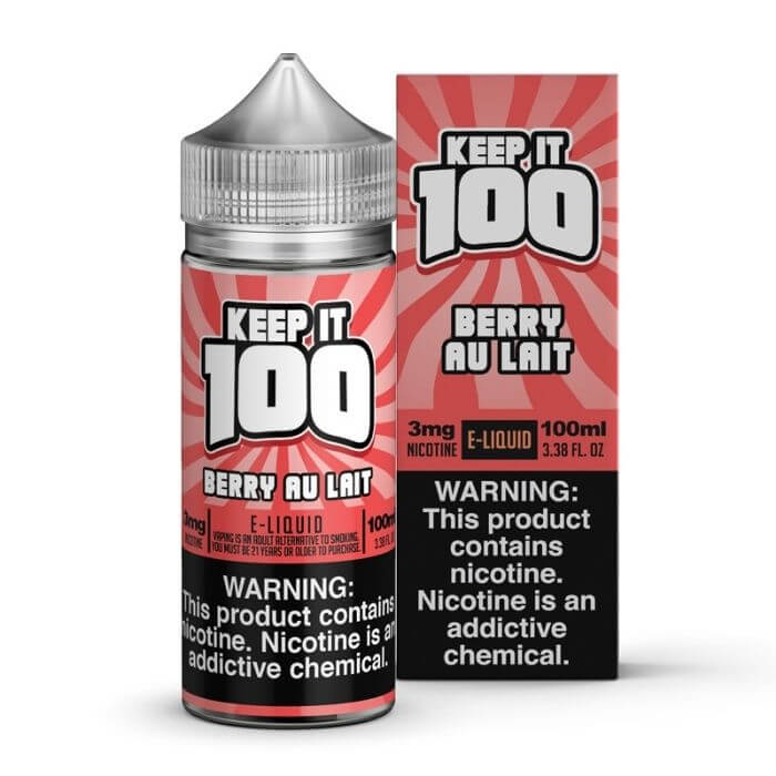 Berry Au Lait by Keep It 100 eJuice