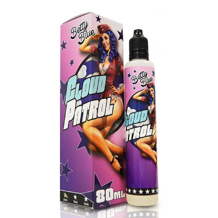 Betty Blue by Cloud Patrol eJuice #1