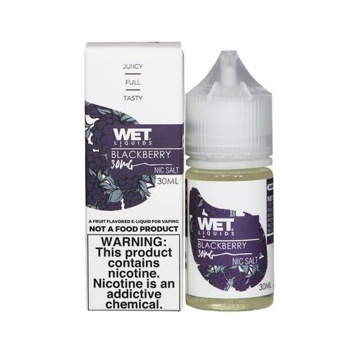 Blackberry Nicotine Salt by Wet Liquids E-Juice #1