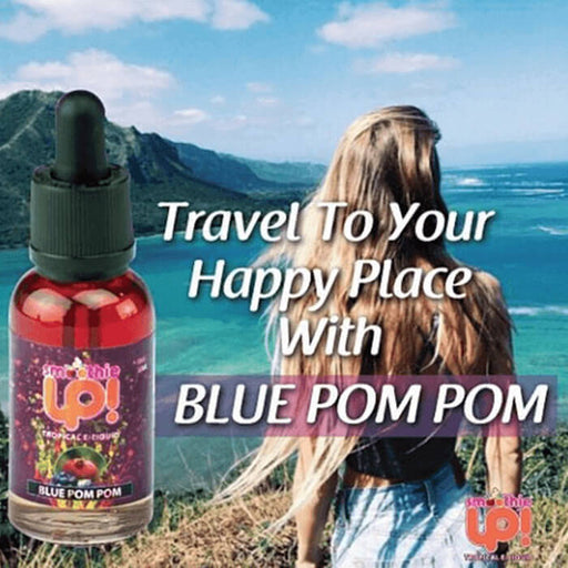 Blue Pom Pom by Smoothie Up Tropical E-Liquid #1