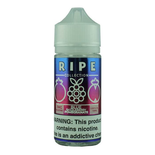 Blue Razzleberry Pomegranate by The Ripe Collection Nicotine Salt by Vape 100 E-Liquid #1