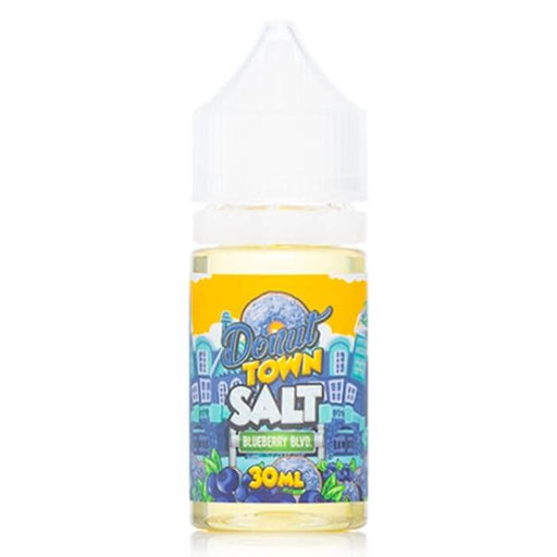 Blueberry Boulevard Nicotine Salt by Donut Town E-Liquid