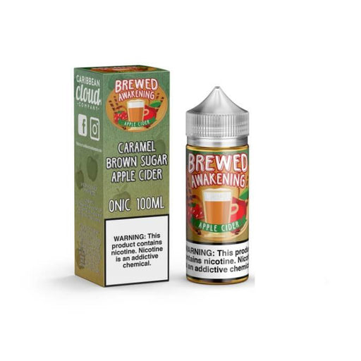 Brewed Awakening Apple Cider by Caribbean Cloud Company eJuice #1