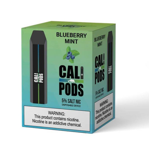 Cali Pods Blueberry Mint Disposable Device #1