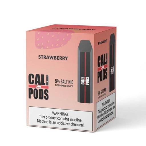 Cali Pods Disposable Device Strawberry