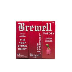 #22 (Hard Strawberry) by Brewell Vapory