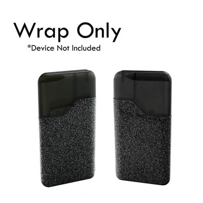 VCG Suorin Air Wraps: Black Glitter #1