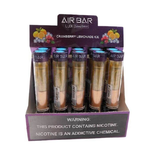 Cranberry Lemonade Ice Disposable Device by Air Bar Lux Galaxy Edition