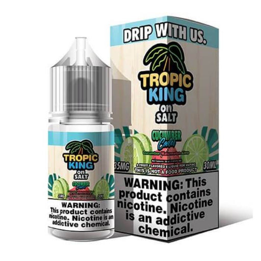 Cucumber Cooler Nicotine Salt by Tropic King eJuice #1