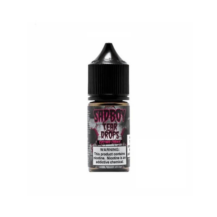 Custard Cookie by SadBoy Nicotine Salt E-Liquid #1