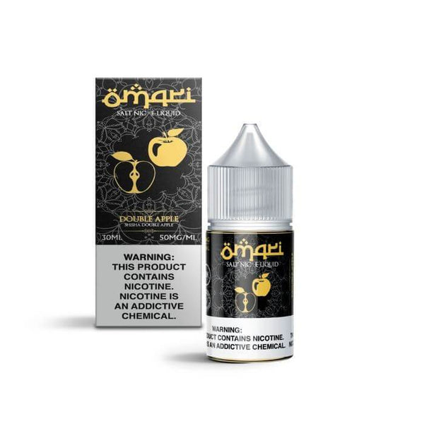 Double Apple Nicotine Salt by Omari E-Liquid