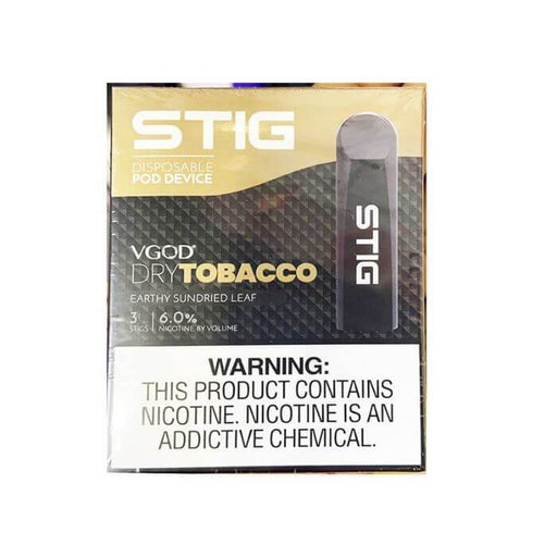 VGOD STIG Dry Tobacco Disposable Pod Device