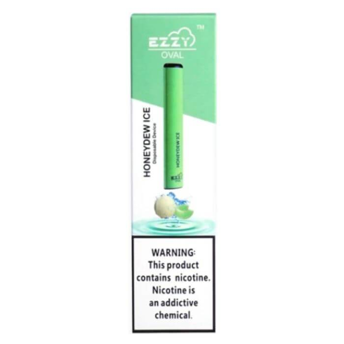 Ezzy Oval Honeydew Ice Disposable Device