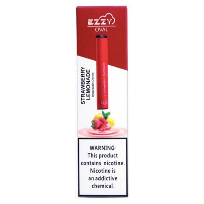 Ezzy Oval Strawberry Lemonade Disposable Device