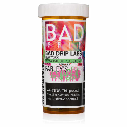 Farley's Gnarly Sauce by Bad Drip Nicotine Salt eJuice