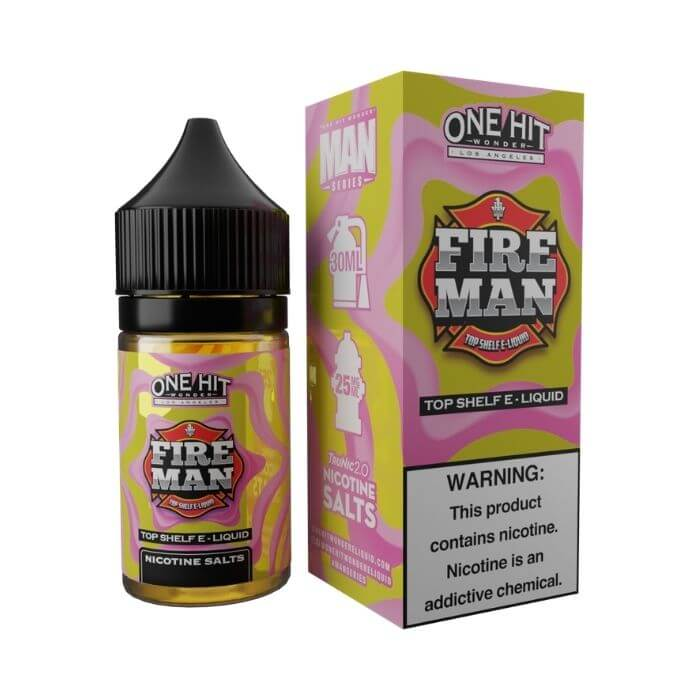 Fire Man by One Hit Wonder Nicotine Salt E-Liquid