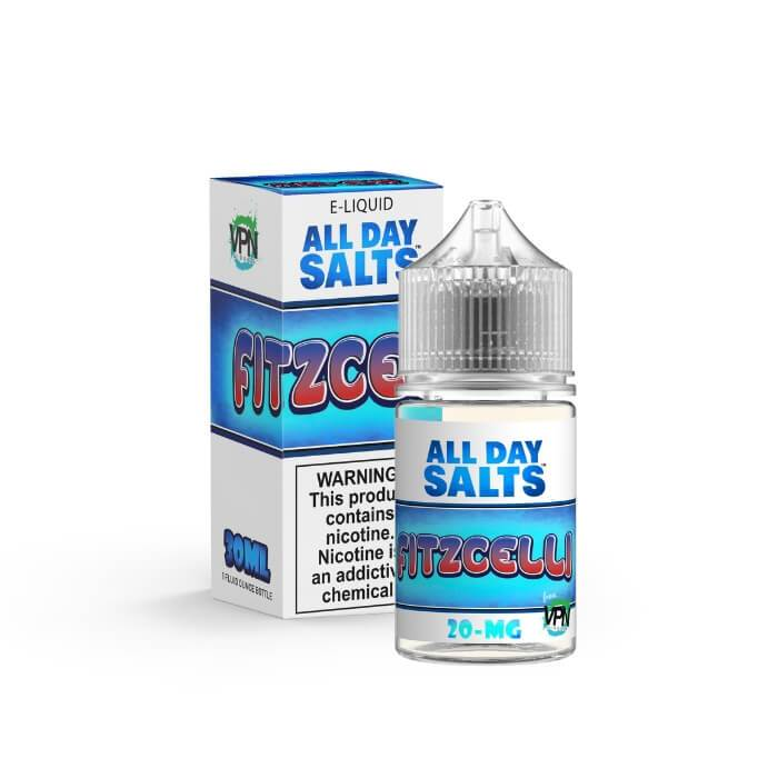 Fitzcelli All Day Salts by VPN Liquids Premium E-Liquid #1