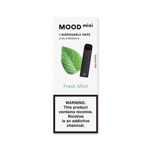 Mood Vapor Fresh Mint Mini Disposable Device #1