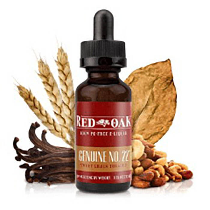 Genuine No 22 by Red Oak Tobacco eJuice #1