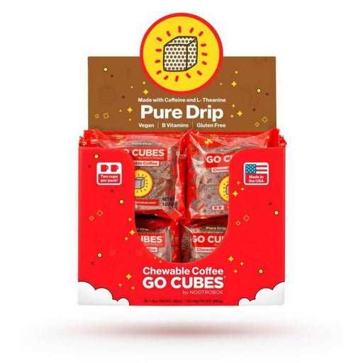 Go Cubes Chewable Coffee #1