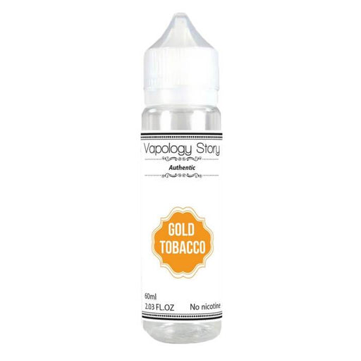Gold Tobacco by Vapology Story eJuice #1